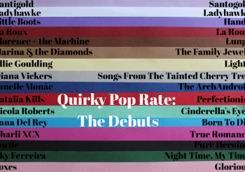 QUIRKY POP RATE: THE DEBUTS | Write-up #7: Santogold by @Mirwais| Extra album #2 | Deadline: May 9th