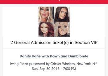 Danity Kane / AUBREY X DAWN / Dumblonde