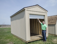 Roll Into Summer With A Brand New Gable Shed With A Roll