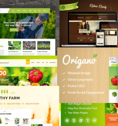 best agriculture and farm wordpress themes [ 1160 x 680 Pixel ]