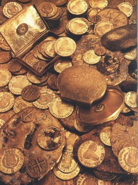 35-Trésor en or trouvé dans le rio de la Plata