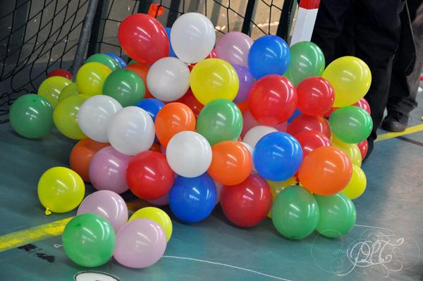 Prendre le temps - Saint Sébastien 2016 au CSPB - ballons attendant leur tour