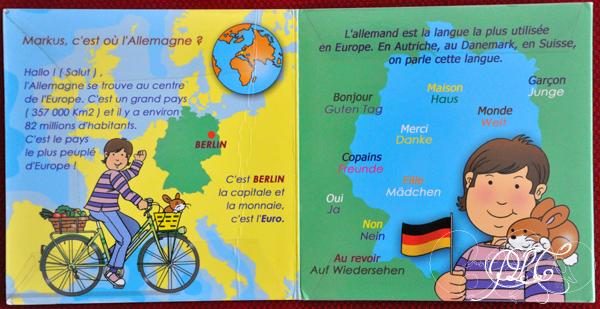 Prendre le temps - Voyageons Ludique - Allemagne - Livre - Markus, l'Allemand