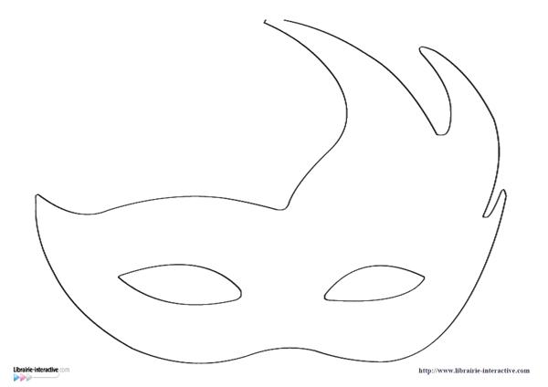 Prendre le temps - Voyageons Ludique - Gabarit masque de carnaval - Venise - Italie