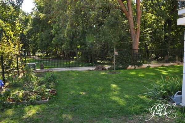 Prendre le temps - Jardin de notre appartement
