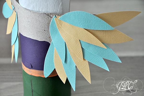 Prendre le temps - Voyageons Ludique - Grèce - DIY - Activités enfants - Rouleaux de papier toilette - Dédale et Icare