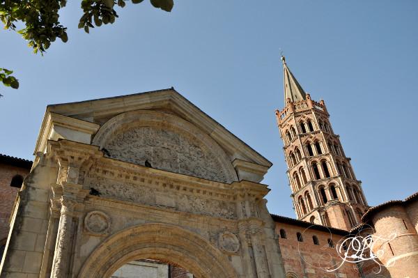 Prendre le temps - Toulouse - Basilique Saint-Sernin