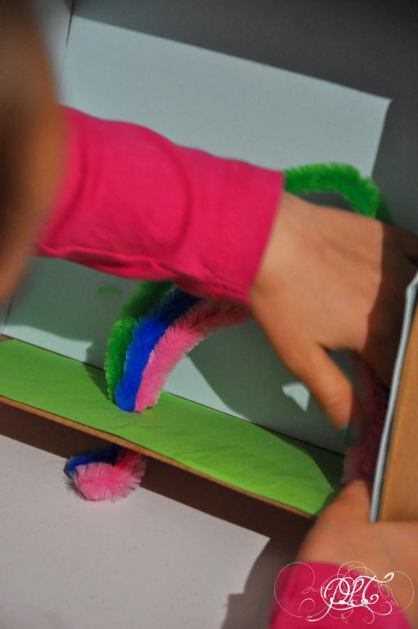 Prendre le temps - Voyageons Ludique - Irlande - tableau 3D - leprechaun - arc-en-ciel