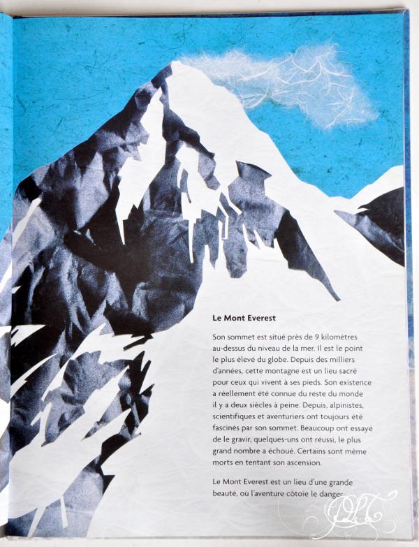 Prendre le temps - Voyageons ludique - lecture - Sur le toit du monde