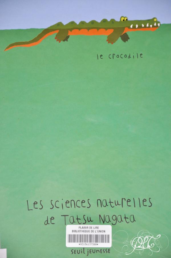 Prendre le temps - Coup de cœur de bibliothèque - Les sciences naturelles de Tatsu Nagata - livre jeunesse