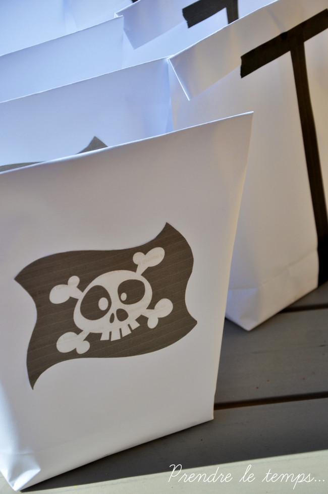 Prendre le temps - Anniversaire Pirate - Coffre à trésor