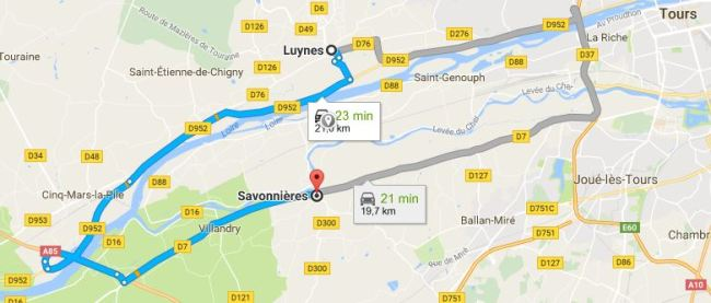 Prendre le temps - Voyage - France - Touraine - Savonnières