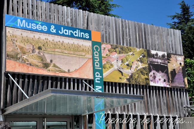 Prendre le temps - Canal du Midi - Saint-Ferréol - Musée et Jardins du Canal du Midi
