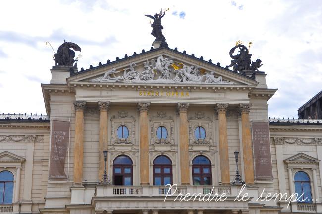 Prendre le temps - Voyage - République Tchèque - Prague - Opéra
