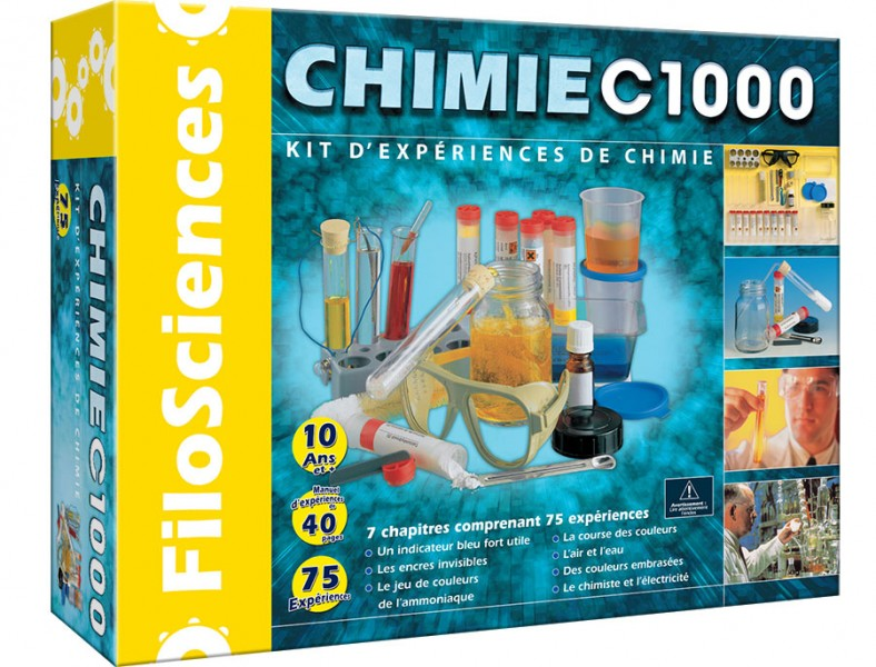 Prendre le temps - Wishlist Titechérie 7 ans - Kit Petit Chimiste