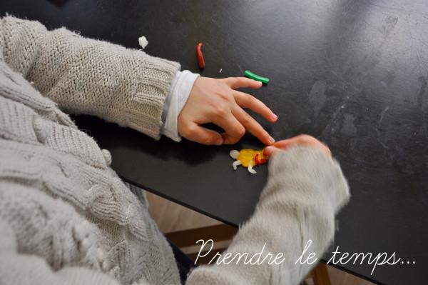 Prendre le temps - Atelier Mercurius - Cire à modeler