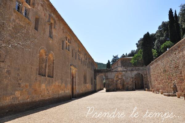 Prendre le temps - Abbaye de Fontfroide - Narbonne - Aude - Occitanie