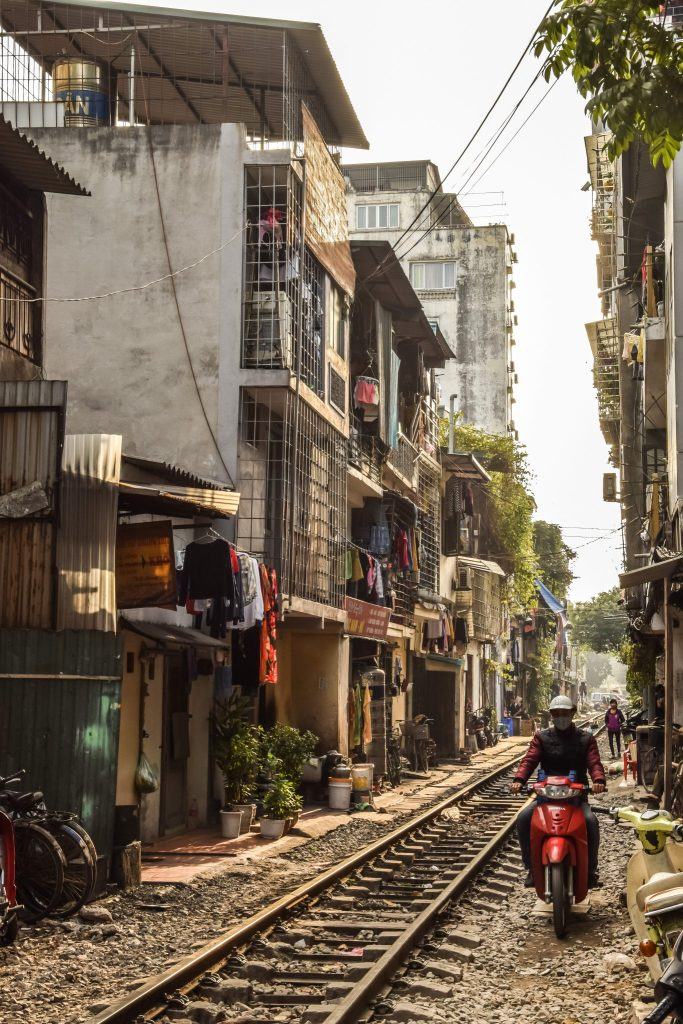train ruelle Hanoi