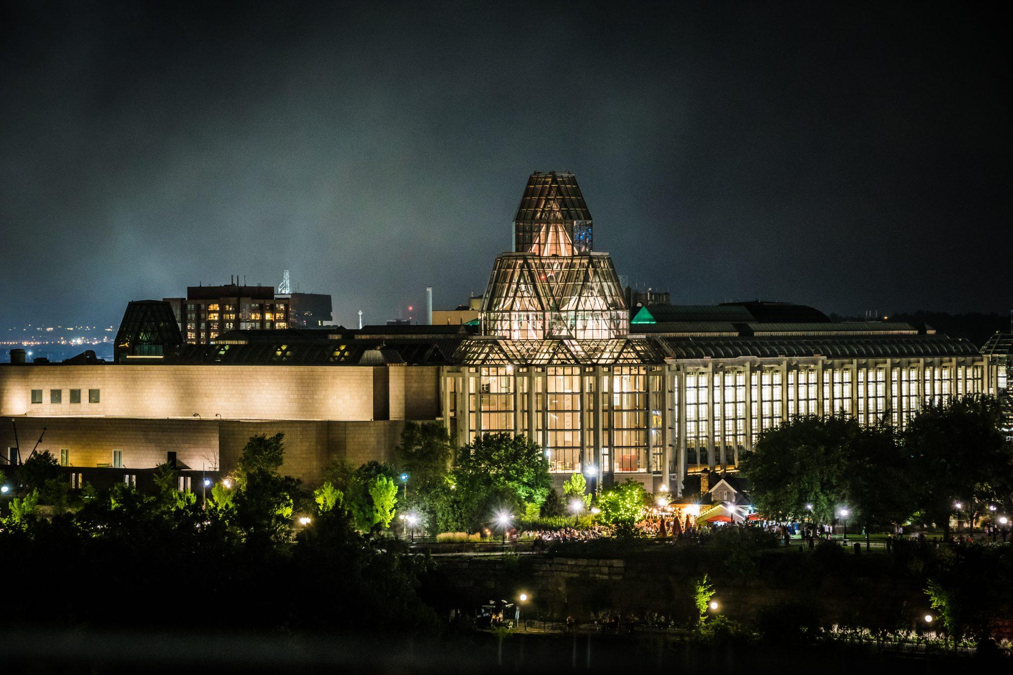 musée nuit