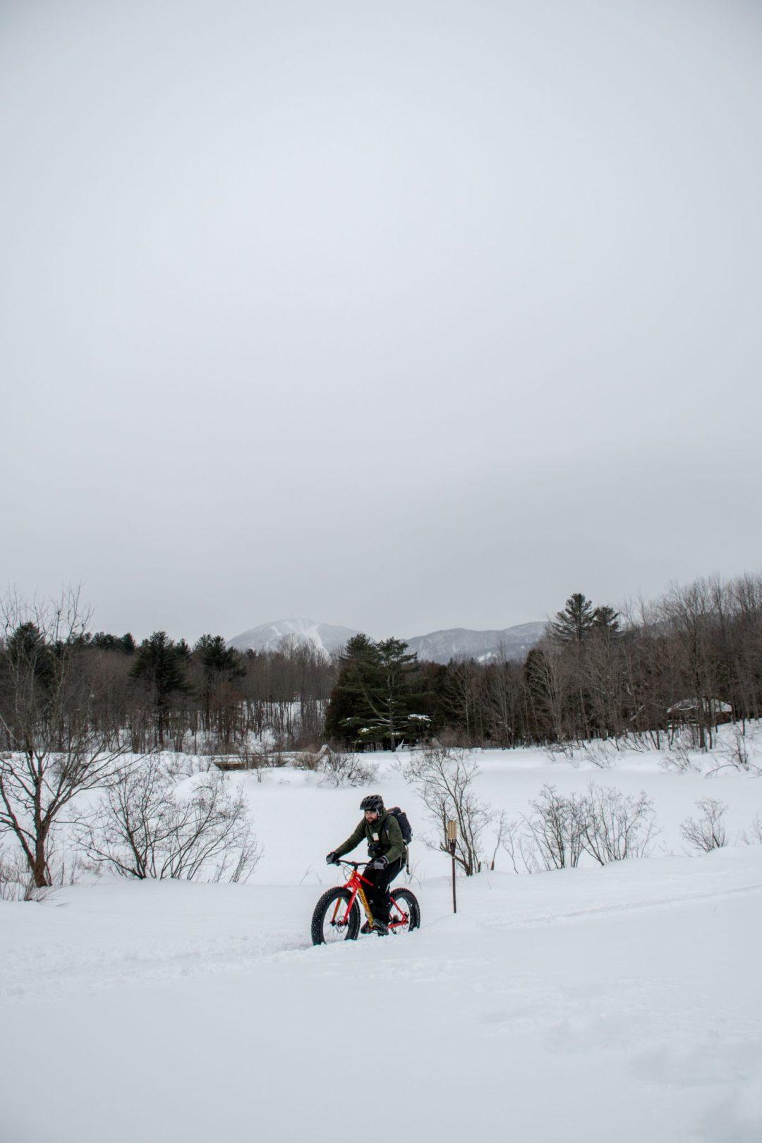 fatbike mont orford magog hiver