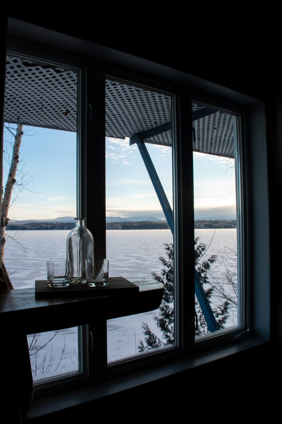 vue lac megantic