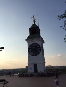 Petrovaradinska tvrđava Sat Novi Sad