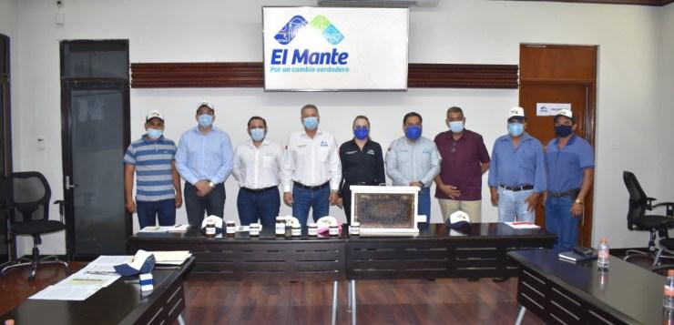 EL GOBIERNO DE MATEO VÁZQUEZ ABRE SUS PUERTAS A LAS EMPRESAS QUE LE APUESTAN A EL MANTE.