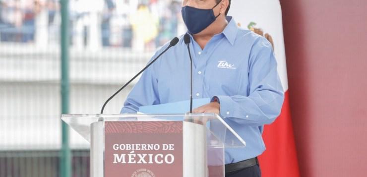 EXIGE GOBERNADOR EQUIDAD PRESUPUESTAL AL PRESIDENTE Y ALCALDE LO RESPALDA
