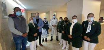 Reconoce el diputado Alberto Lara esfuerzo de doctores y enfermeras