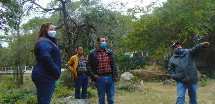 Marina Ramírez recorre comunidades de San Carlos