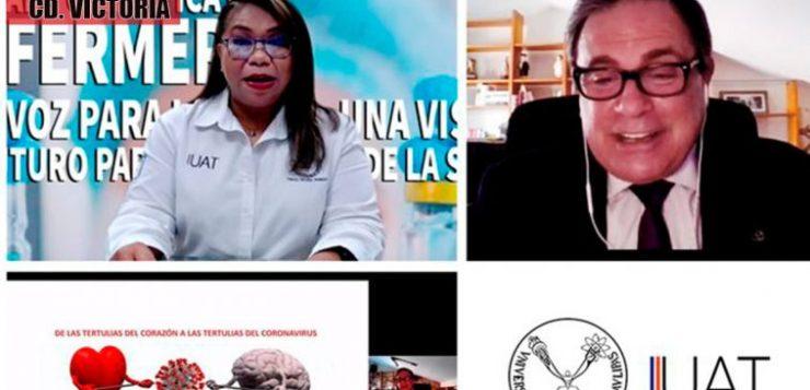 UAT celebra Día Internacional de la Enfermería con Jornada Científica