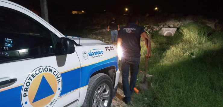 Puntual acción de Protección Civil evitó inundaciones.