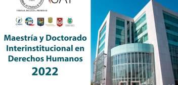 Ofrece UAT los programas de Maestría y Doctorado en Derechos Humanos