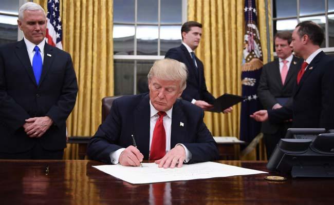 Donald Trump decreto