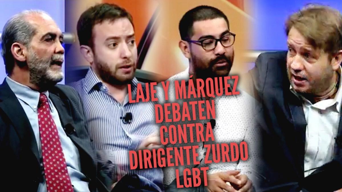 DEBATE: homoprogre destrozado por Márquez y Laje en México