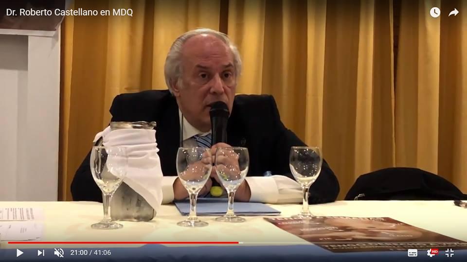 """""""La cultura de la muerte"""": gran conferencia de Roberto Castellano (ProVida)"""