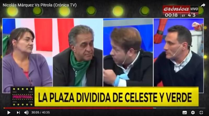 Nicolás Márquez Vs el subversivo Pitrola y otros agentes ultraizquierdas (Crónica TV – Argentina)