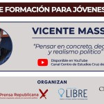 Pensar en concreto: imperdible video-charla de Vicente Massot