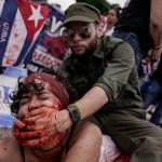 Los cubanos denuncian la represión castrista frente a la Casa Blanca y exigen a Biden que endurezca las medidas contra la dictadura