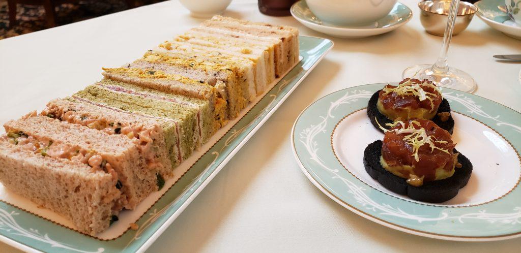 Sandwich assortment for Afternoon Tea