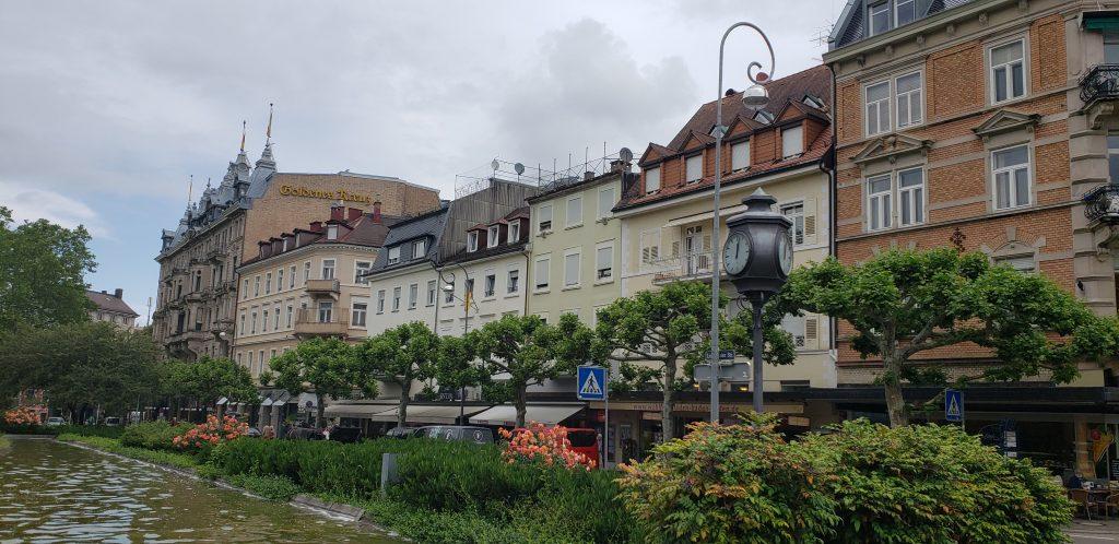 Downtown Baden-Baden