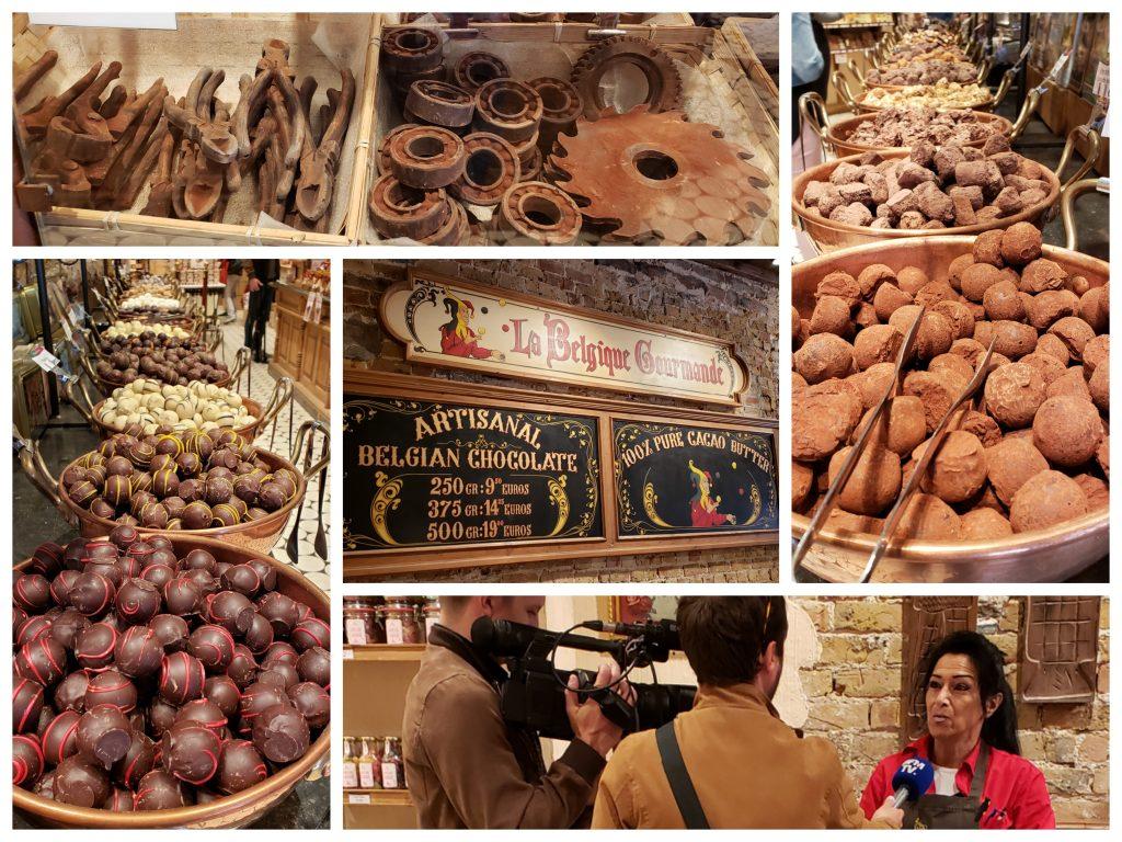 La Belgique Gourmande chocolate shop