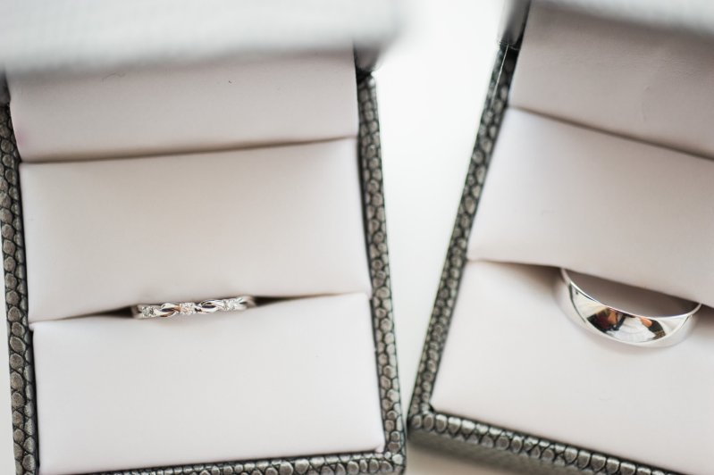 Wedding rings means getting married and the beginning of wedding planning
