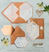 copper invitations