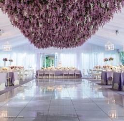 floral dance floor