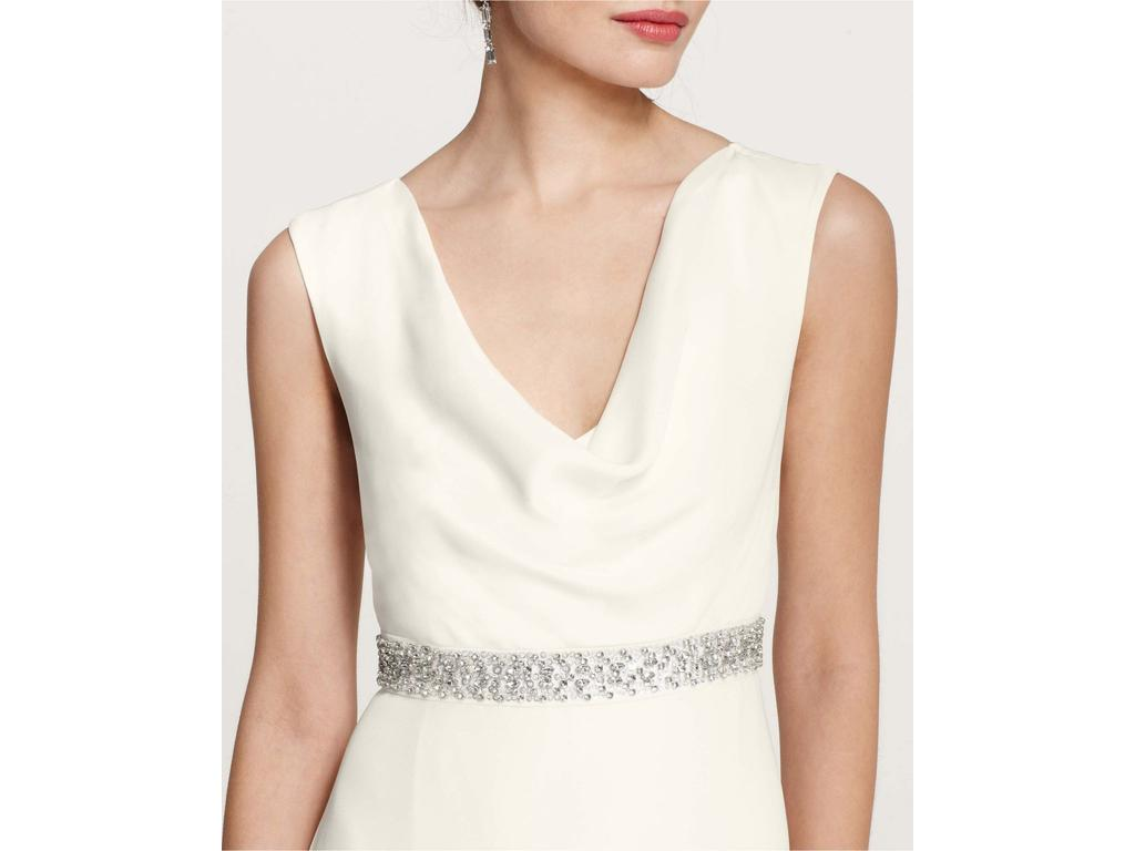 Ann Taylor MYA COWL NECK WEDDING GOWN Wedding Dress