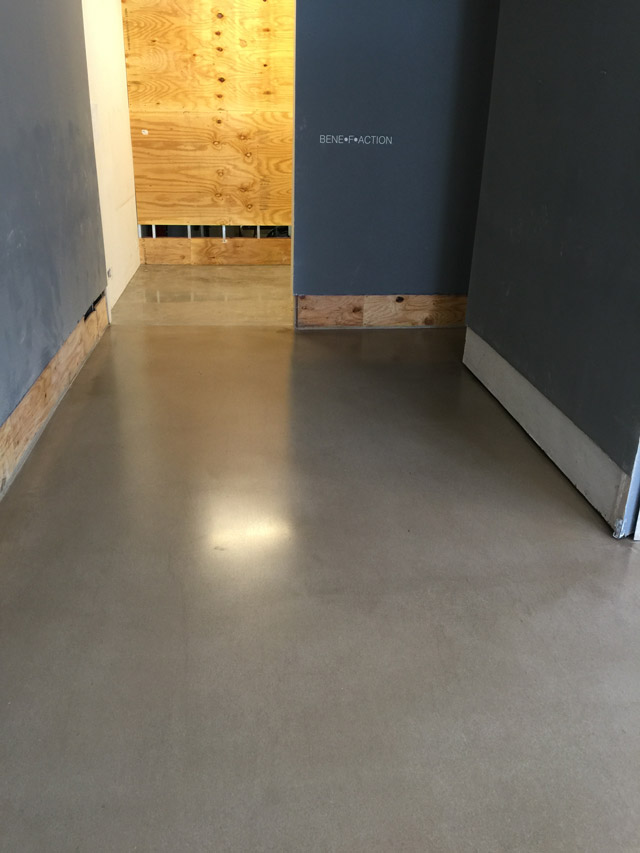 Concrete Leveler Exterior
