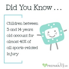 Sports Related Kids Injuries - PreparaMom