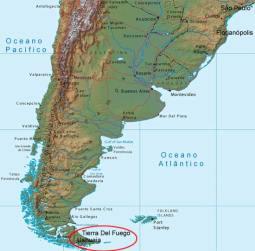 1. Mapa Ushuaia