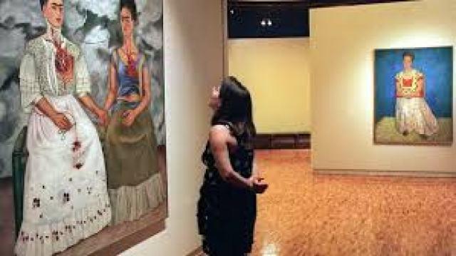 Las Dos Fridas de Frida Kahlo – Museo de Arte Moderno en CDMX, México